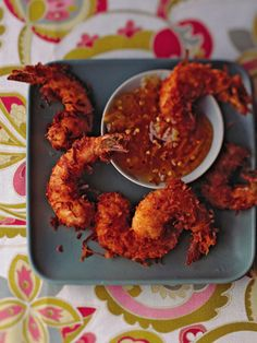 Coconut Fried Shrimp #appetizers #recipes