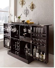The Steamer Bar Cabinet and Wine Storage by Crate » Furniture Fashion Modern Interior Home Decorating Magazine