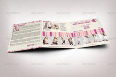Squarefashionbrochuretemplate Fashion Brochure Template - Fashion brochure templates