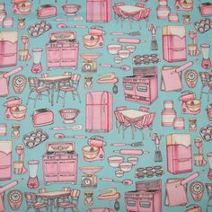 retro fabric = how many ways do I love this fabric???