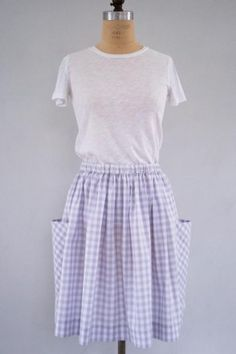 Gathered Skirt for All Ages | The Purl Bee