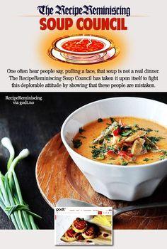 Easy Thai Chicken Soup with Coconut Milk / Enkel Thai Kyllingsuppe med Kokosmelk