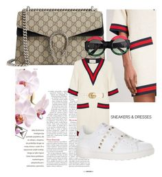 """""""⭐️"""" by minaoguz on Polyvore featuring moda, Gucci ve Valentino"""