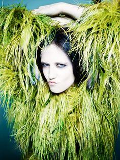 Eva Green Portrait Fashion Rankin Portraits Book