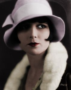 A quick colorization of Louise Brooks!