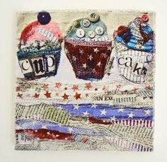 Freddy & Freya Cakes Fabric Art, from gorgeousgifts.co.uk