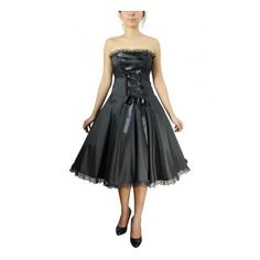 Plus size black Steampunk dress with Victorian lace-up front. Plus size  black lace up ribbon front steampunk clothing dresses. 5d147a77611