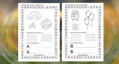 Kategória Pre prvákov - Page 4 of 5 - Nasedeticky. Slovak Language, Alphabet, Journal, Personalized Items, Alpha Bet, Journals