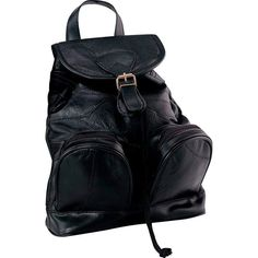 New Small Black Backpack Purse Leather Shoulder Bag Bookbag Evening Case Handbag #ad