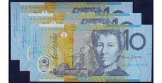 1998 Australia Ten Dollars Polymer X 3 - GL 98 - Last Prefix Very hard to find run of 3 consecutive last prefix notes.  Stunning condition and a super investment.  One to put away for the future.  Very Rare+  - See more at: https://www.noteworthy-collectibles.com/past-opportunities/1998-australia-ten-dollars-polymer-x-3---gl-98---last-prefix#sthash.WL2fBPKr.dpuf