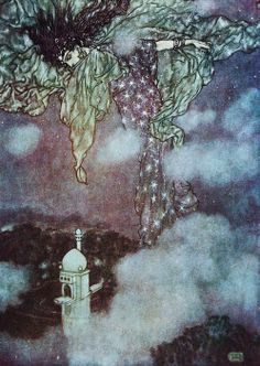 Kay Nielsen: WRONG!!! This is by Edmond Dulac