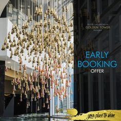 Book early and receive wonderful rates. Book now: http://lasamericasgoldentower.com/en/portfolio/early-booking-offer/