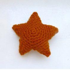 Cute starfish over at sixthanddurian.etsy.com #etsy #etsyseller #crochet #newworlddesigners #orange #handmade #forsale #cute #crochetamigurumi #amigurumi