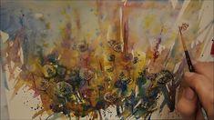 Watercolor Flower, Videos, Painting, Art, Art Background, Painting Art, Kunst, Paintings, Performing Arts