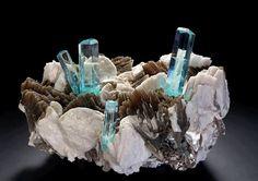 Beautiful High quality aquamarine specimen from Pakistan Photograph by Malte Sickinger