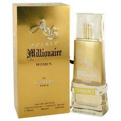 SPIRIT MILLIONAIRE BY LOMANI EAU DE PARFUM 3.3 oz SPRAY FOR WOMEN