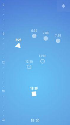 Setting time visually. https://itunes.apple.com/us/app/visualarm/id660540929?mt=8