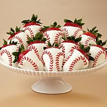 PURE EVIL!  BUT YUM YUM!! Great gift idea!!  Full Dozen Hand-Dipped Home Run Strawberries