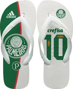 14b2f89de Chinelos havaianas personalizada Palmeiras Personalizamos com o mesmo  processo, direto na borracha. - Havaianas