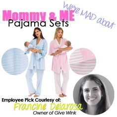 Owner Employee Pick Mommy & Me Pajama Sets
