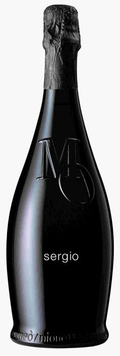 sergio champagne black on black simple