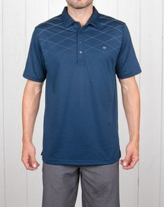 226e7ef32 Travis Mathew Men s Tempest Polo Shirt - Apparel - Puetz Golf Men s  Activewear