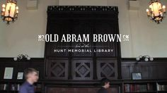 Old Abram Brown plays Live at the Hunt Memorial Library - Novelty Prize #livevideo