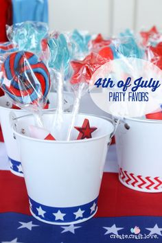 4th of July Party Favors!!!!