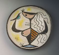 Gádor István: a szabadság allegóriája, falitál Pottery Art, Decorative Plates, Ceramics, Artist, Hungary, Home Decor, Ceramic Art, Clay Crafts, Interior Design