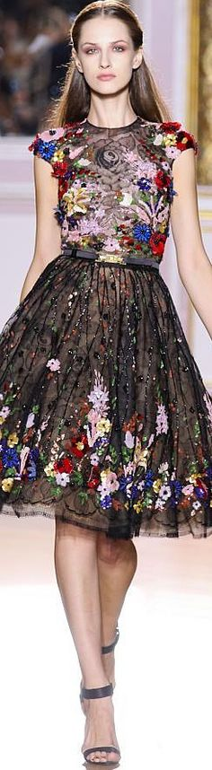 Zuhair Murad Haute Couture | F/W 2012 Cool Sunday Dress