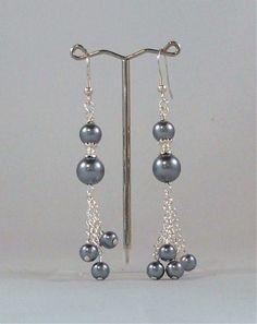 New full moon earrings