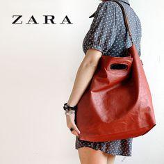 Retro shoulder portable handbags