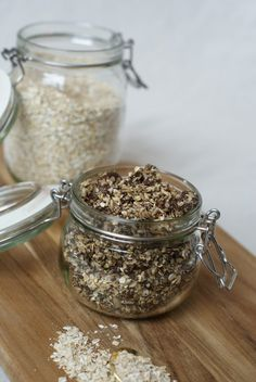Knuspriges Mohn-Granola - Schmeck's Rolled Oats, Glutenfree, Sheet Pan, Bakken, Poppy, Fast Recipes, Homemade