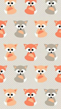 Baby fox pattern - Tap to see more brilliantly lovely and uplifting abstract pattern Apple iPhone Plus HD wallpapers, backgrounds, fondos. Baby Wallpaper, Trendy Wallpaper, Cool Wallpaper, Pattern Wallpaper, Wallpaper Backgrounds, Apple Wallpaper, Animal Wallpaper, Cute Backgrounds For Iphone, Painting Wallpaper