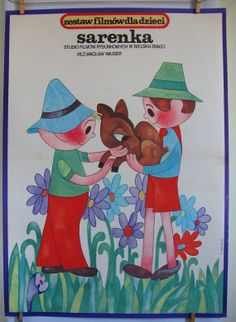 Polish poster for an animated film for children  by artwardrobe, $29.99