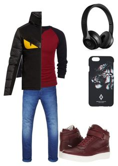 """""""Brother's outfit"""" by starwriter-05 on Polyvore featuring Scotch & Soda, Fendi, Calvin Klein, Beats by Dr. Dre, County Of Milan, men's fashion and menswear"""