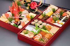 Osechi (ceia japonesa) em caixa Jubako | Mundo-Nipo