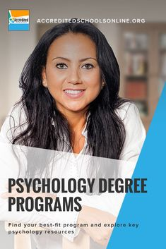 A psychology degree is one of the most popular degrees available today, and for good reason: not only does it open the doors to interesting careers working to understand human behavior, it also provides a broad educational background that can be useful in Online Psychology Courses, Psychology Resources, Psychology Programs, Online College, Education College, College Courses, Psychological Theories, Best Online Courses, Human Behavior