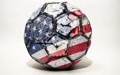 usa soccer football ball