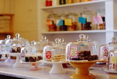 and the dessert counter at baked & wired