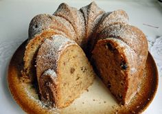kudy-kam: Bábovka alá štrůdl French Toast, Easy Meals, Sweets, Bread, Baking, Breakfast, Desserts, Recipes, Food