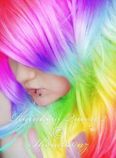 Over the Rainbow Hair
