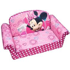 Minnie Mouse  flip  open  sofa  for  kids  bow  tique
