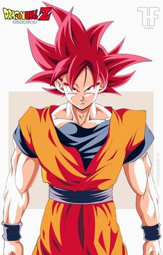 Goku Super Saiyan god by Dragon Ball Z, Akira, Reference Manga, Dbz Super Saiyan, Dragon Super, Ssj3, Z Arts, Verse, Pet Portraits