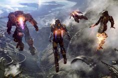 BioWare shows off their thrilling new co-op title, 'Anthem,' highlighting explosive combat and stunning open-world adventure in a new sci-fi setting