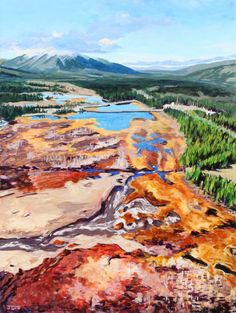 South McQuesten Valley, Acrylic, 40x30 inches, Jeff Wilson, 2018 Stuff To Do, Mountains, Nature, Travel, Art, Art Background, Naturaleza, Viajes, Kunst