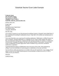 sample cover letter elementary teacher