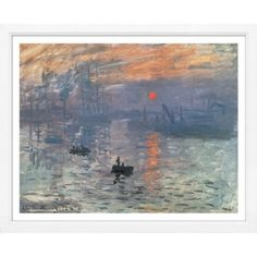 Check out this item at One Kings Lane! Monet, Riverscape