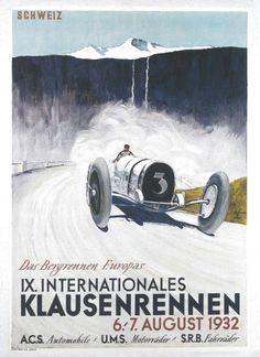 Schönholzer, Ernst Friedrich - IXe Course Internationale  du Klausen, 1932