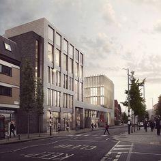 Forbes Massie / 3D Visualisation Studio / London - Work - Platform 5 / LeSoCo School